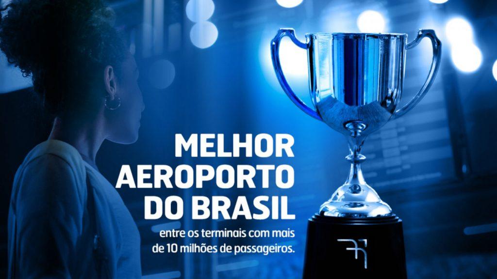 Aeroporto Internacional de Belo Horizonte é eleito o melhor do país entre terminais os com mais de 10 milhões de passageiros