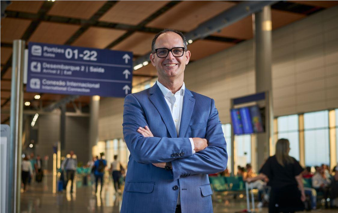 Diretor-presidente da BH Airport ministra curso de capacitação a empresários de Lagoa Santa