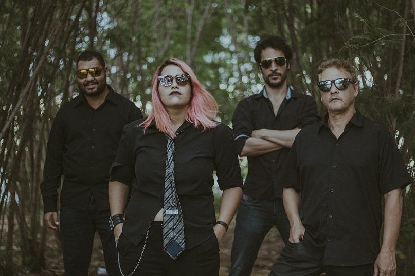 É hoje! Banda de rock Alucinoise fará live direto do Container Club