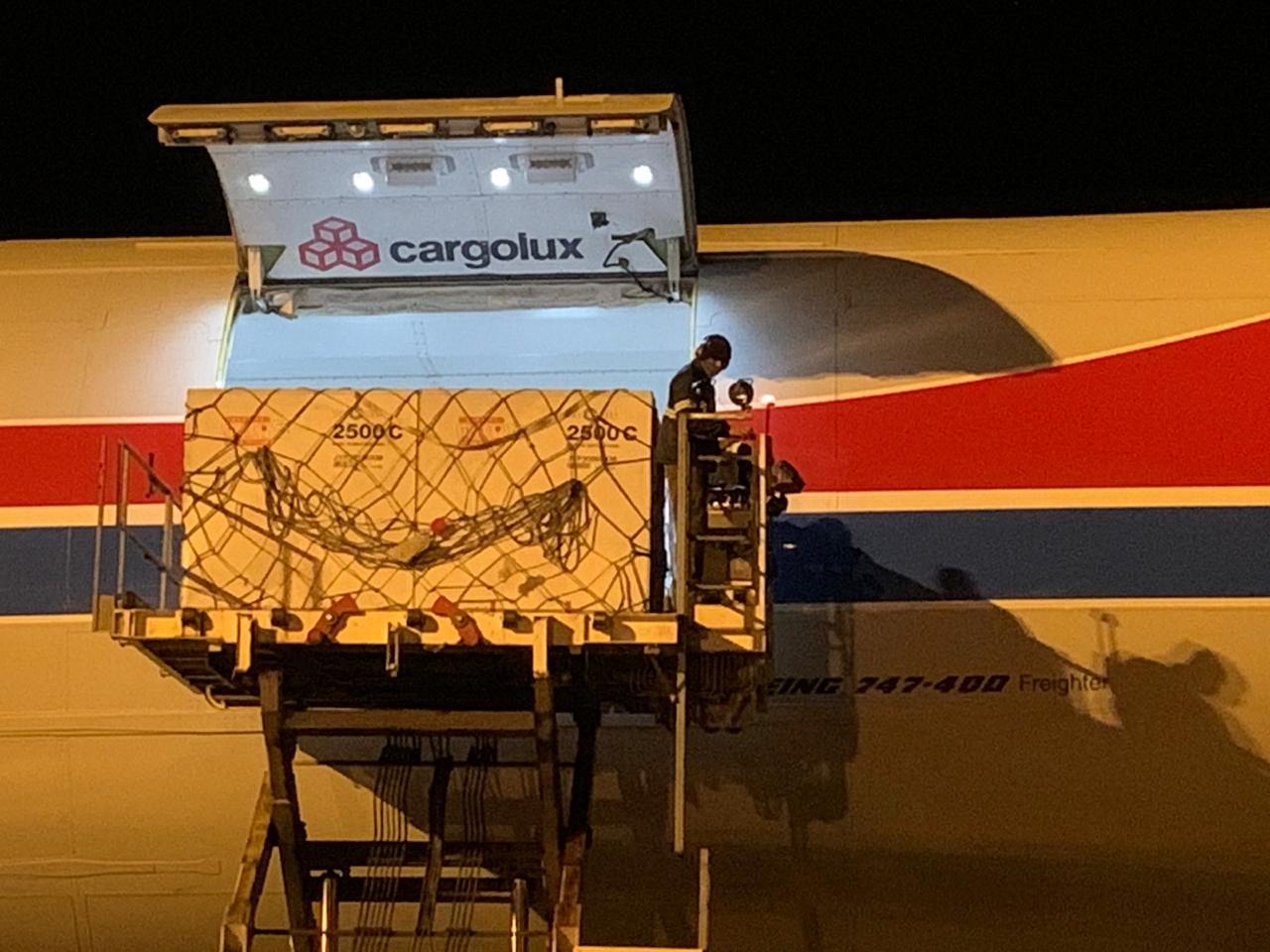 Aeroporto Internacional de BH recebe 3,3 milhões de doses de vacinas contra Meningite C