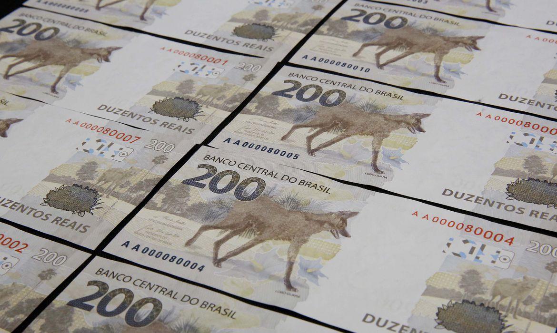 Banco Central apresenta cédula de R$200. Nota tem coloração cinza e homenageia lobo-guará