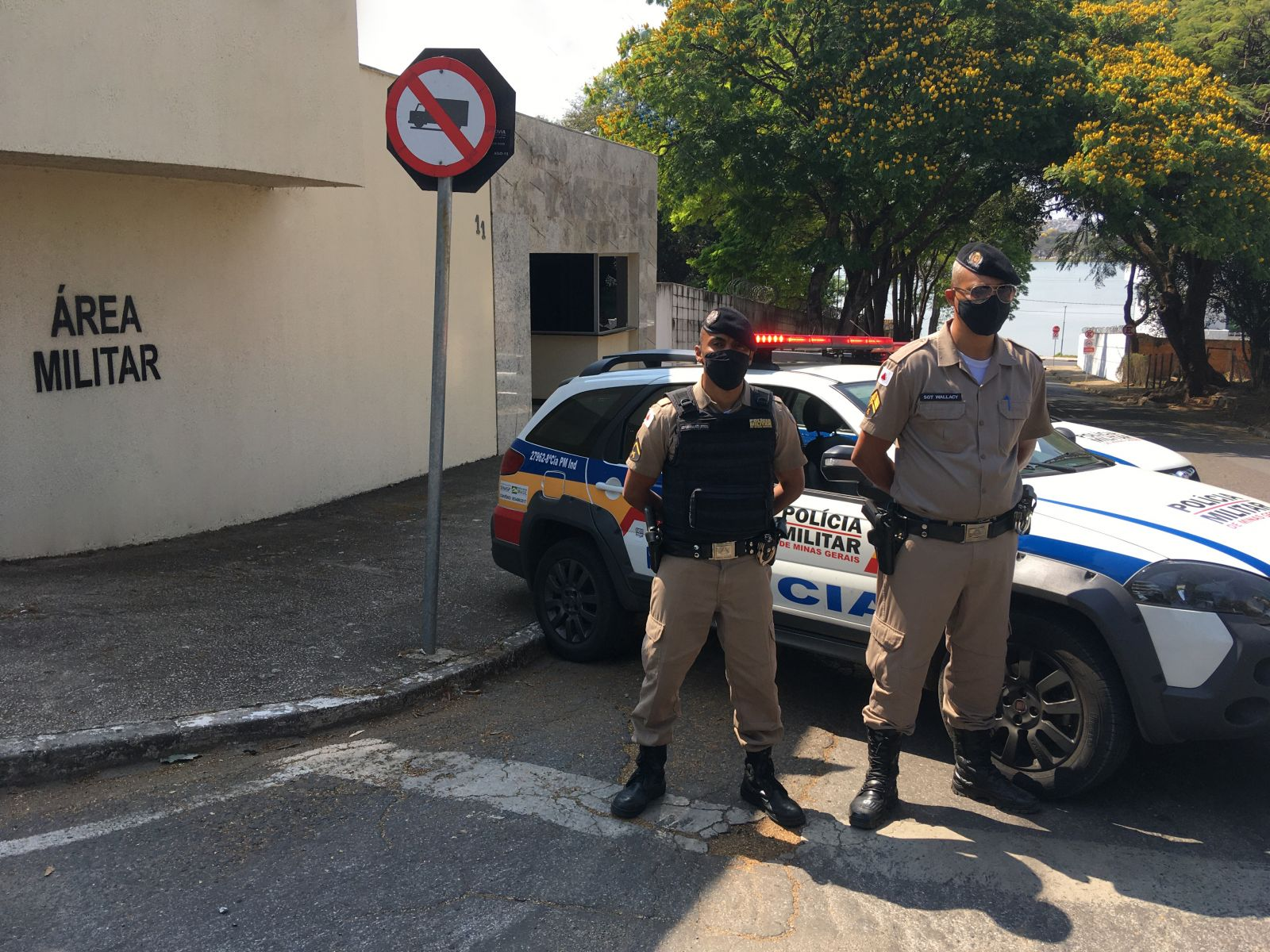 8ª Companhia de Polícia Militar Independente de casa nova!