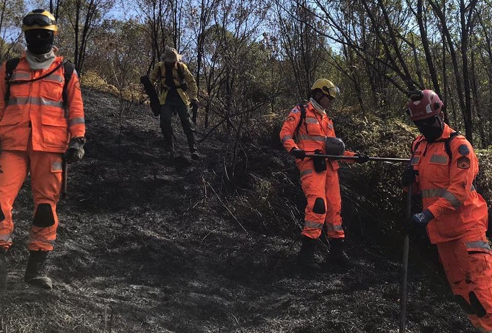 Incêndio é finalmente contido na Serra do Cipó!