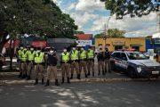 Polícia Militar reforça segurança nas áreas comerciais da cidade neste final de ano