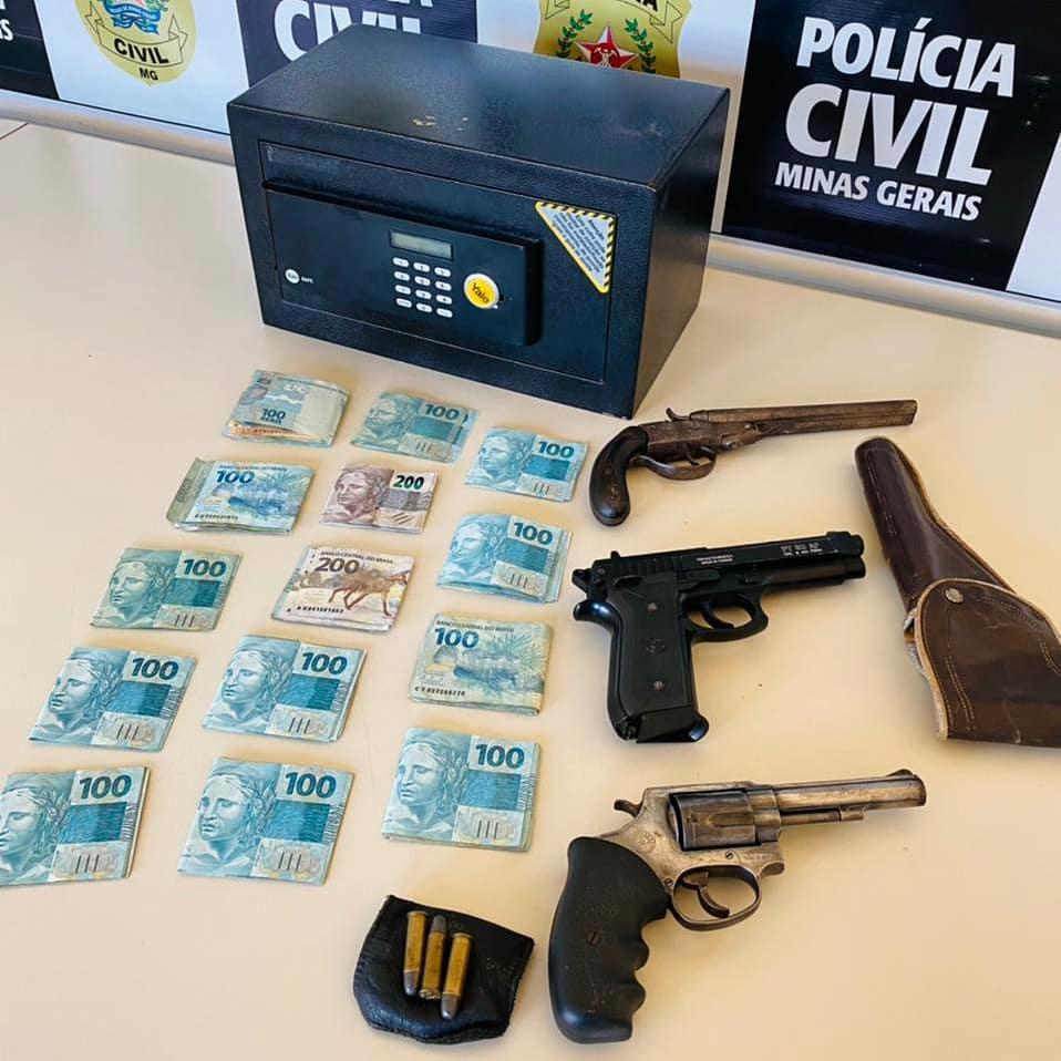 Suspeito por violência doméstica e porte ilegal de armas é preso em Lagoa Santa