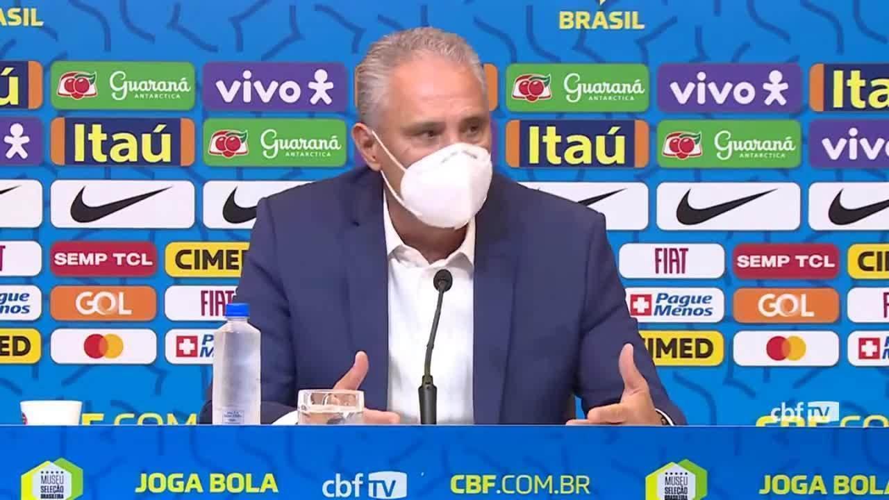 Sem Coutinho, Tite confirma time que irá enfrentar o Equador e o Paraguai