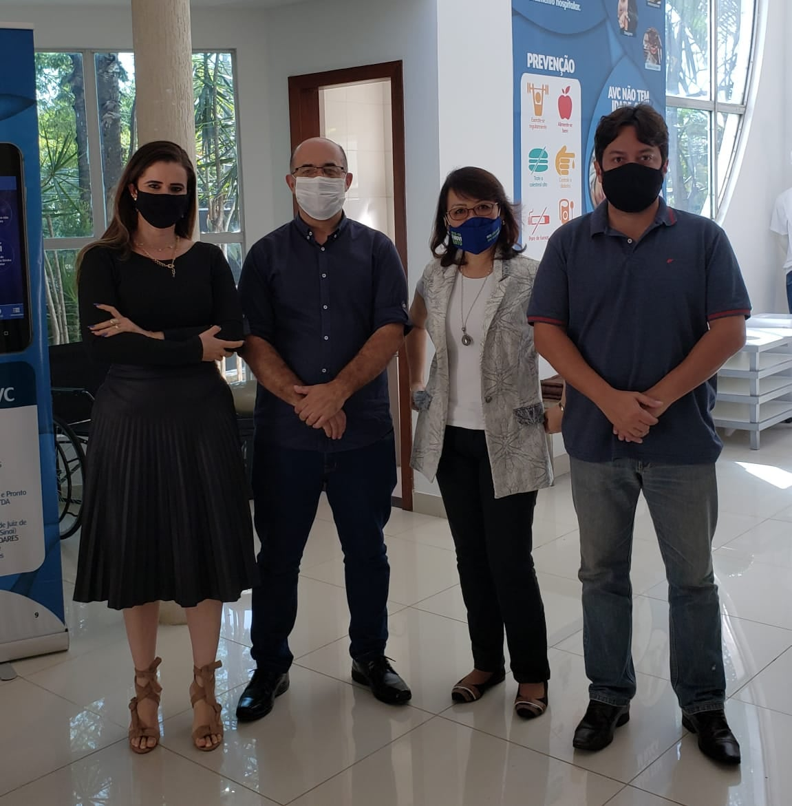 Vítimas de AVC serão vacinadas contra Covid-19 em Lagoa Santa