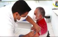 Prefeito de Lagoa Santa é vacinado contra Covid-19