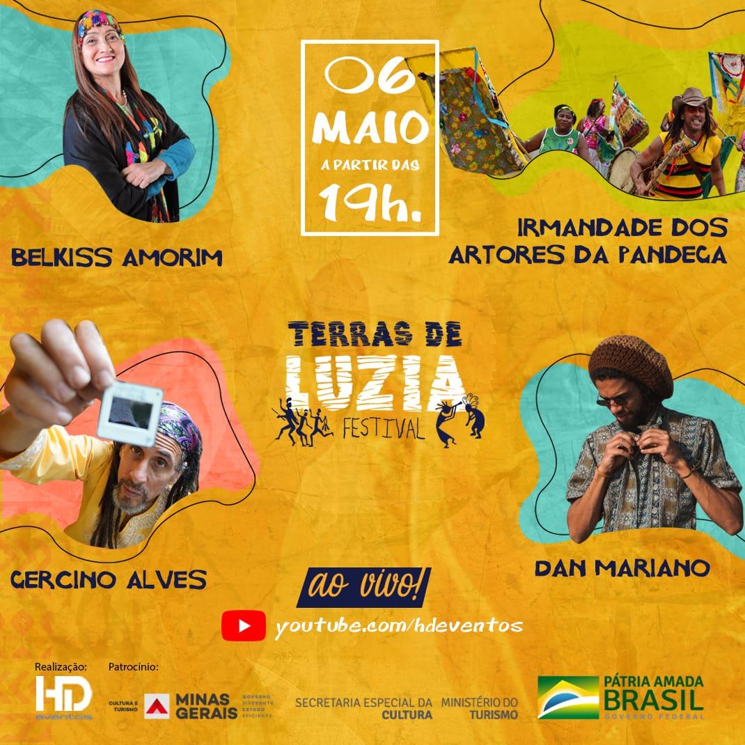 Vai começar o Festival Terras de Luzia!