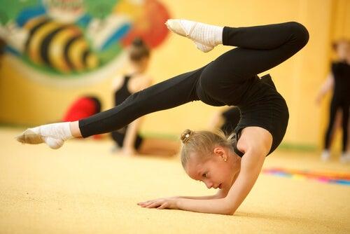 Equipe de ginástica artística de Lagoa Santa retornou aos treinos hoje, 04/05