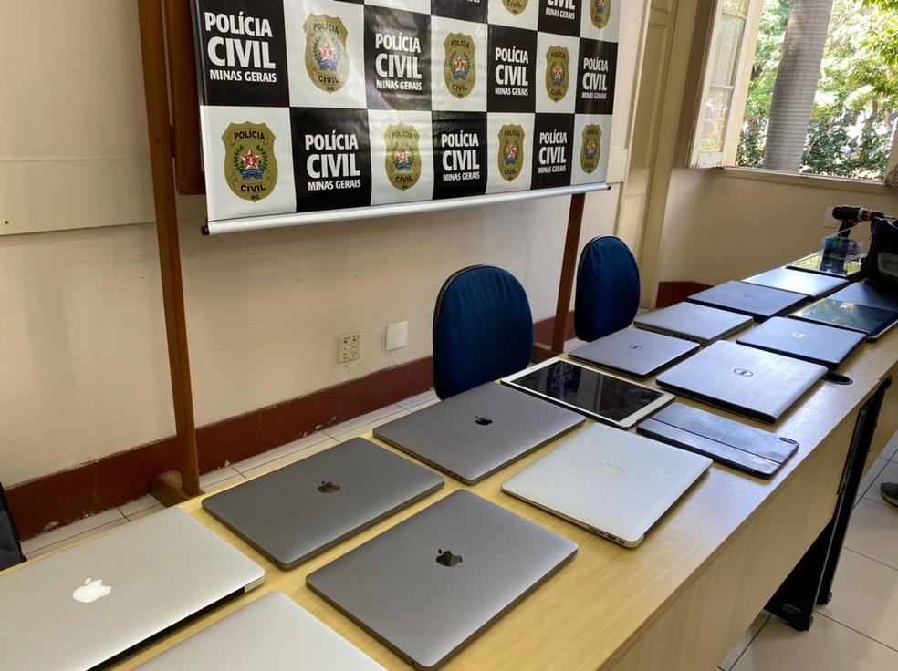 Polícia Civil desarticula quadrilha que roubava notebooks