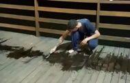 Famosinho, só que não! Adolescente pichou o deck em Lagoa Santa e teve punição