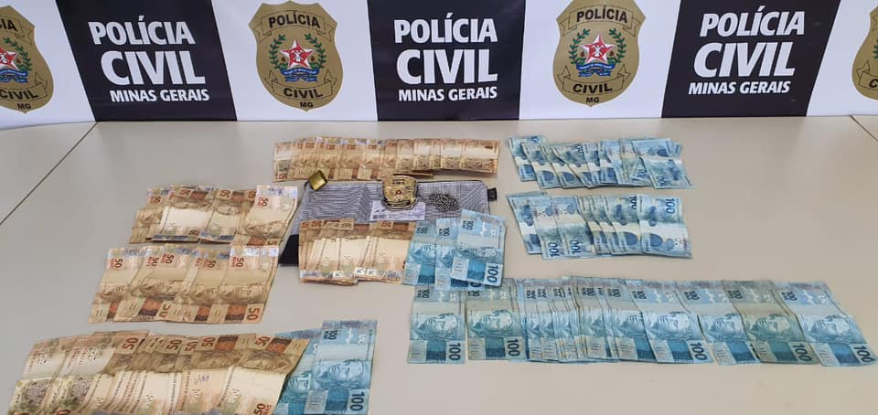 PCMG apreende suspeito de roubo ao Sacolão ABC em Lagoa Santa