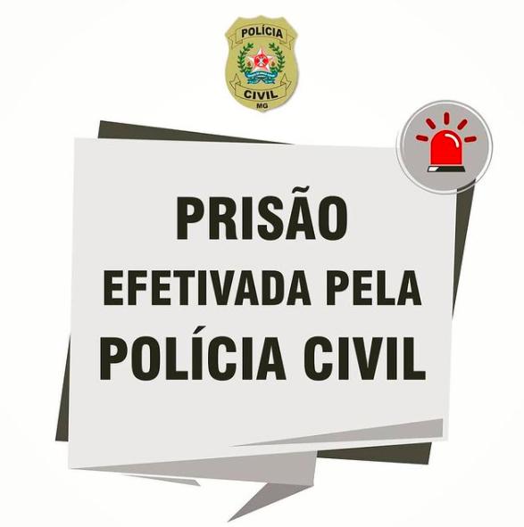 Polícia Civil de Lagoa Santa prende suspeito de assassinato