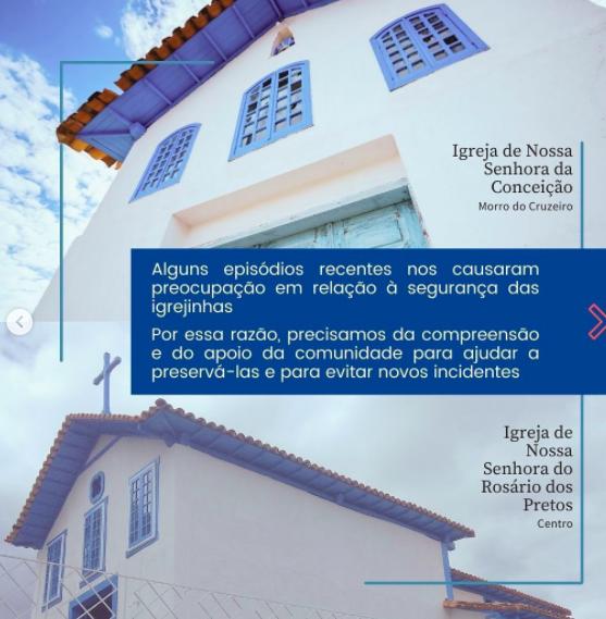 Paróquia de Lagoa Santa realiza campanha para preservar Igrejas do município