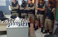 Uma prisão e grande apreensão de drogas em Jaboticatubas