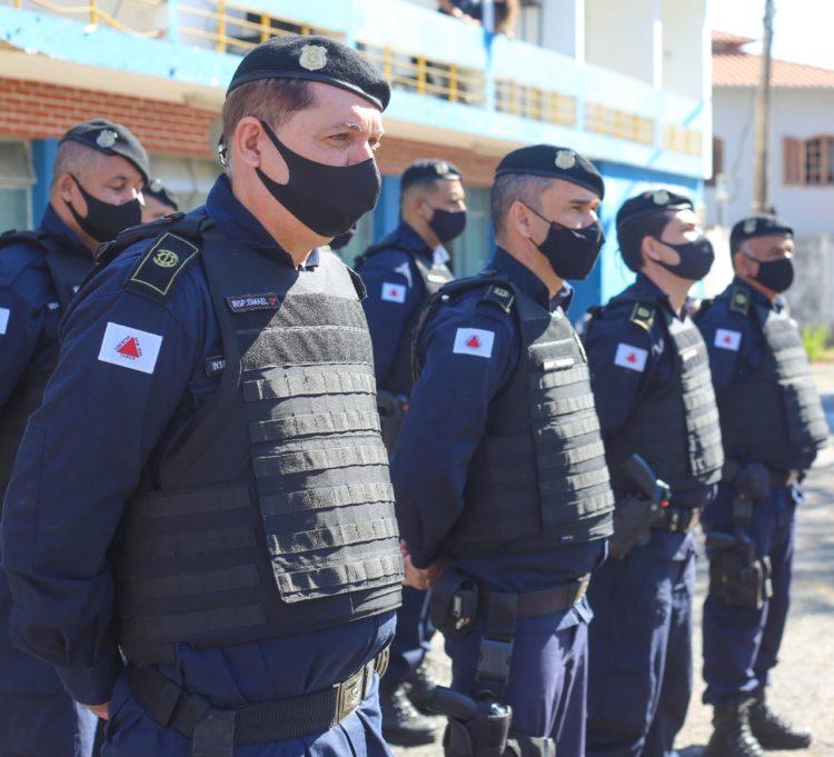 Guarda Civil de Santa Luzia recebe armamentos e equipamentos em comemoração aos 13 anos de fundação