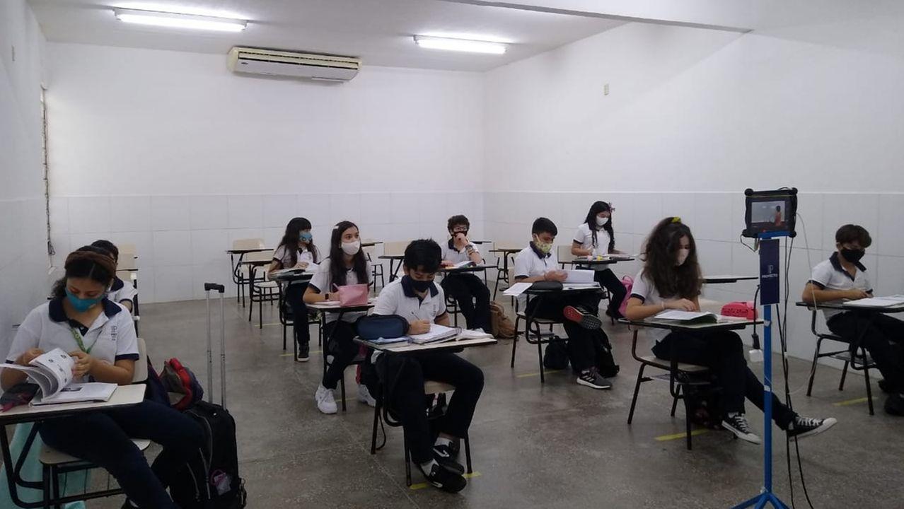 Escolas particulares são contra esquema de retorno das aulas do Ensino Fundamental projetado pela PBH