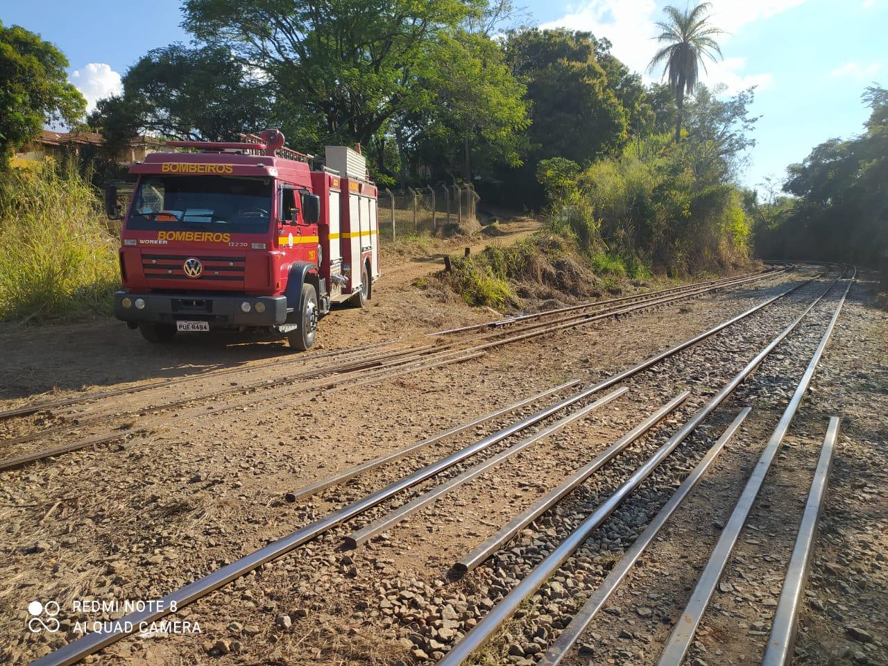 Homem morre em Vespasiano ao ser atropelado por um trem