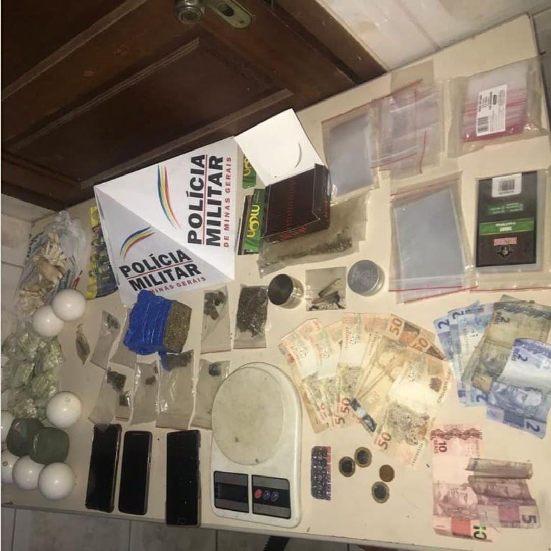 PM apreende material de laboratório de drogas em Santana do Riacho