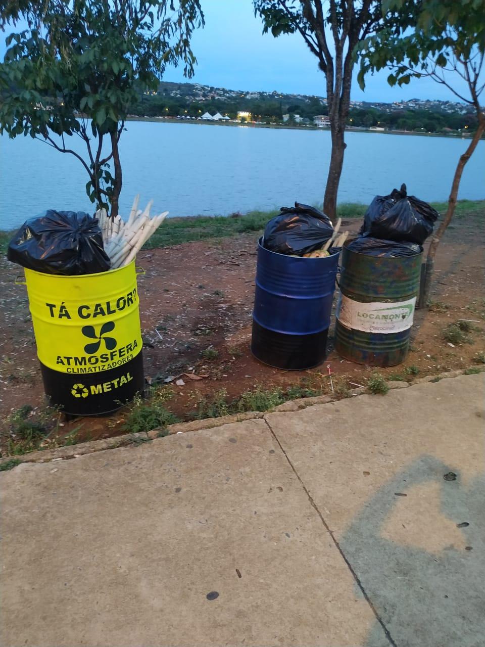 Lagoa Arte Santa prova que não é culpada pelo lixo espalhado na Lagoa