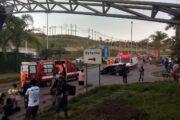 Capotamento de veículo em Santa Luzia deixa uma vítima em estado grave