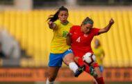 Seleção feminina de futebol do Brasil enfrentou o Canadá e empatou em 0X0