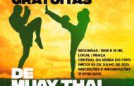 Prefeitura de Santana do Riacho proporciona aulas de Muay Thai gratuitas para a população