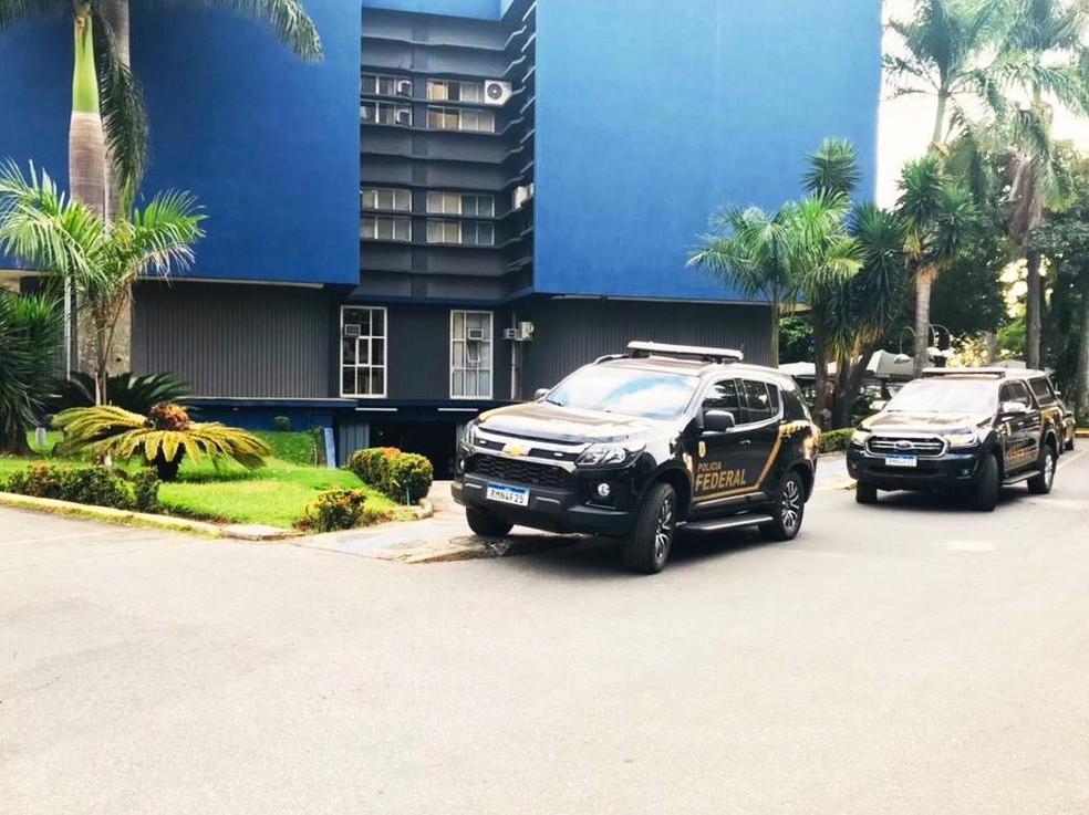 Polícia Federal cumpre mandado em Lagoa Santa