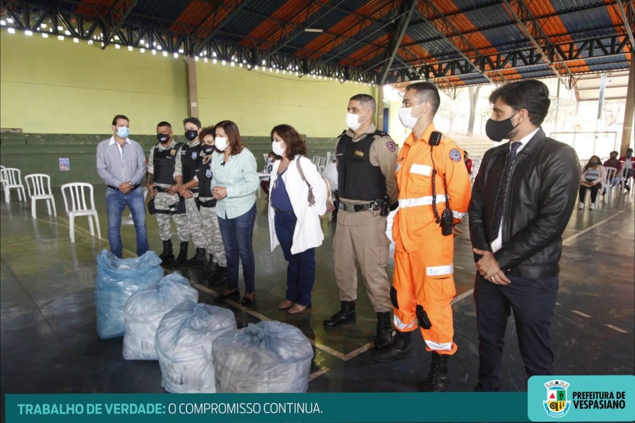 Prefeitura de Vespasiano promove ações educativas de combate e prevenção à Covid-19