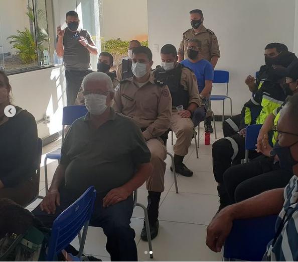 PM, ComsepLS e Translago debateram sobre o trânsito de Lagoa Santa