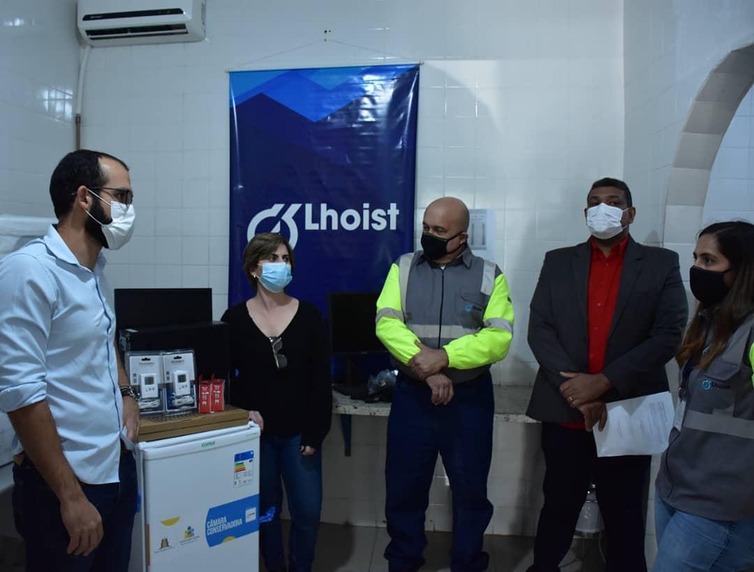 Prefeitura de São José da Lapa recebe doações de equipamentos de combate à Covid-19