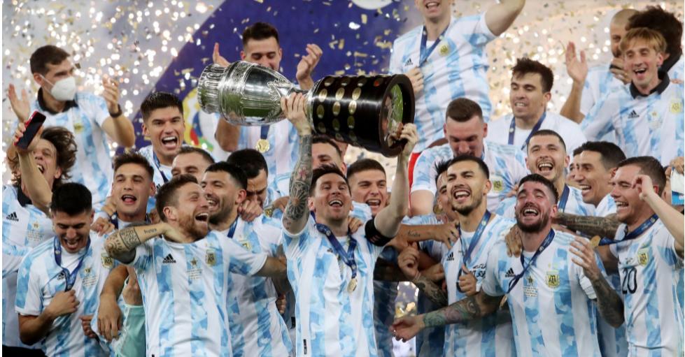 Brasil perde para Argentina o título da Copa América 2021