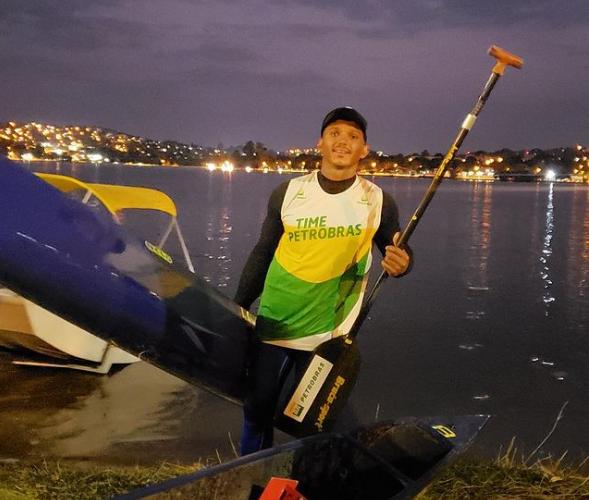 Isaquias fez último treino em Lagoa Santa rumo às Olimpíadas de Tóquio