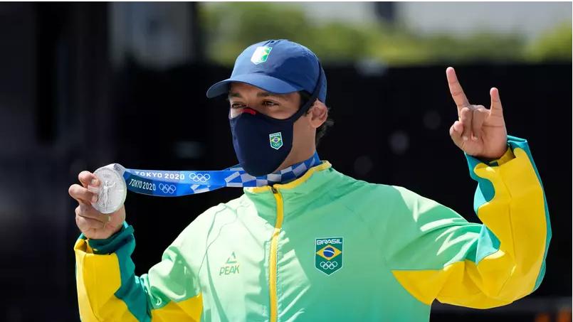 Brasil conquista a primeira medalha de prata em nova modalidade: o skate