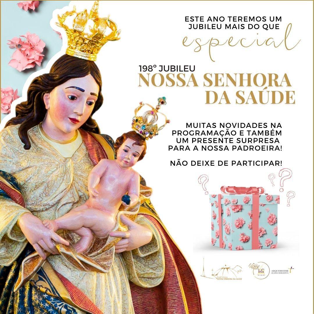 Paróquia Nossa Senhora da Saúde celebra este ano 198 anos de Jubileu