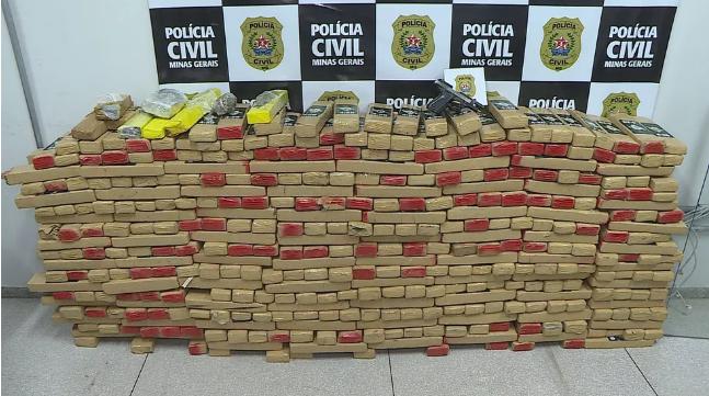 Droga que seria vendida em Lagoa Santa é apreendida pela Polícia Civil