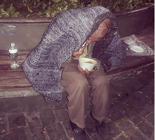 Moradores de rua de Lagoa Santa enfrentaram o dia mais frio do ano neste mês de Julho