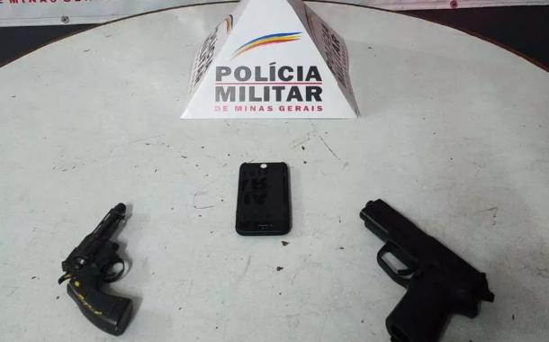 Assaltantes de ponto de ônibus são presos em Santa Luzia