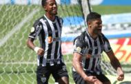 Atlético MG ganha de três do Bahia com dois gols do aniversariante Hulk