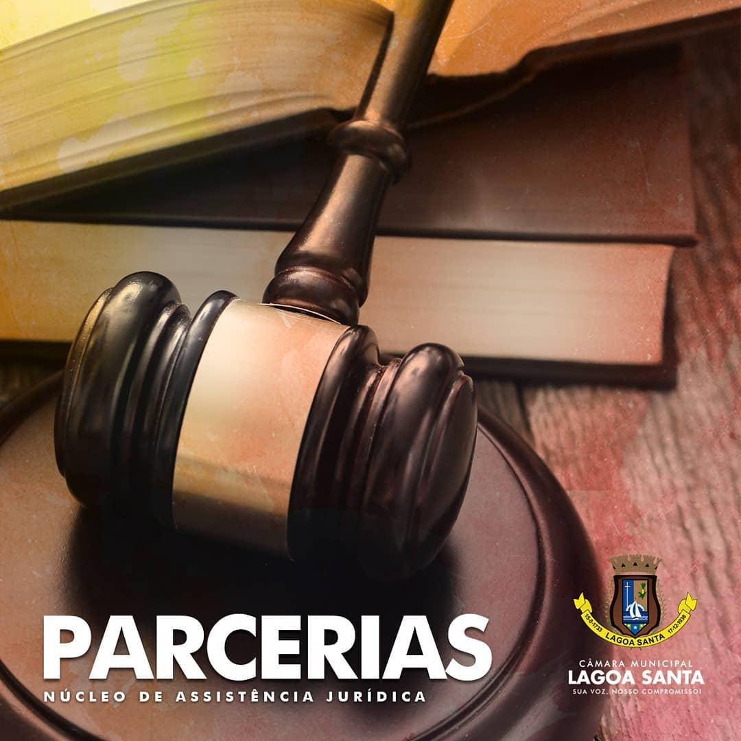 Câmara Municipal de Lagoa Santa firma parcerias para prestar assistência jurídica para a população carente do município