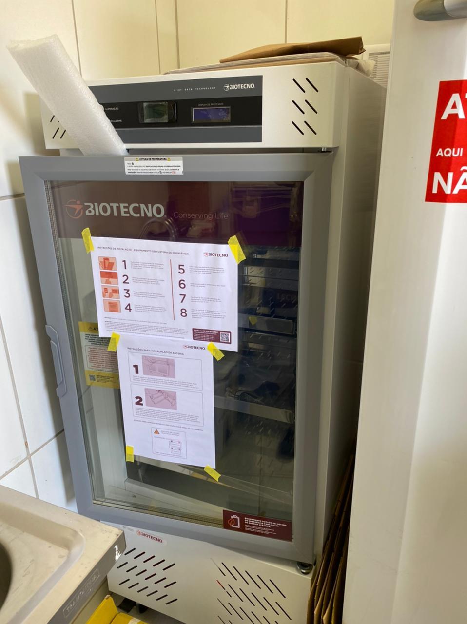 Santana do Riacho recebe câmaras de refrigeração para conservar a temperatura das vacinas