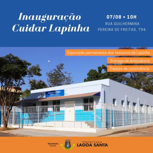 Prefeitura inaugura o Cuidar Lapinha
