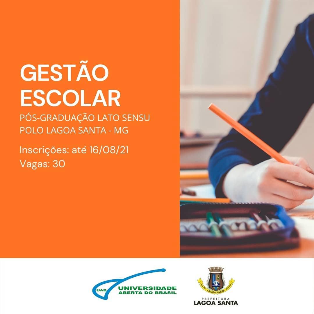 UAB Lagoa Santa divulga processo seletivo para Pós-Graduação EAD