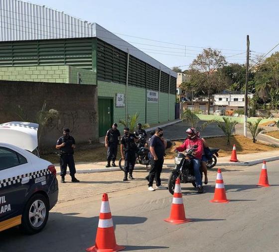 São José da Lapa realizou blitz educativa para motociclistas sobre o uso do cerol e linhas cortantes