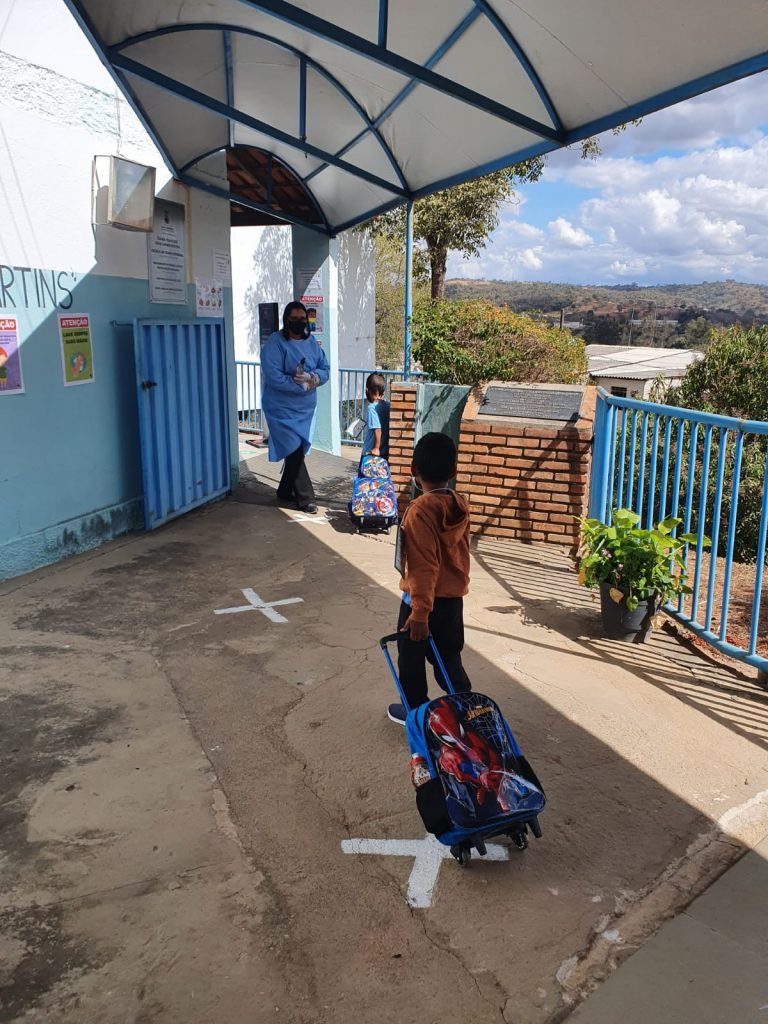 Volta às aulas da educação infantil em Pedro Leopoldo foi menor do que o esperado
