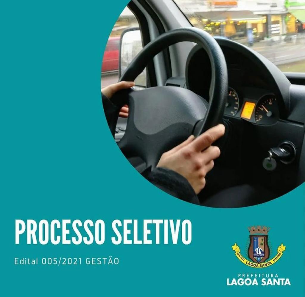 Prefeitura de Lagoa Santa divulga edital para cadastro reserva para a função de motorista
