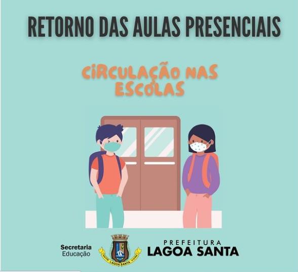 Prefeitura de Lagoa Santa anunciou as medidas de segurança para o retorno dos estudantes da rede municipal