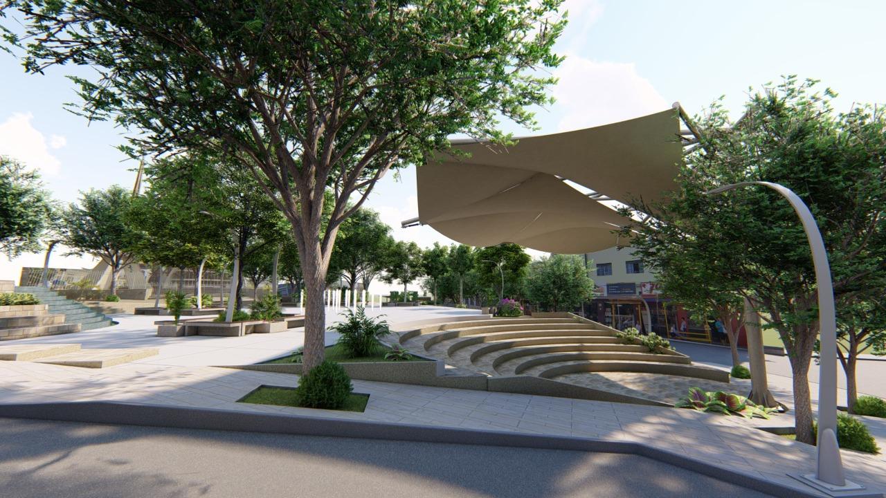 Revitalização de Praça Dr. Lund promete modernizar a cidade