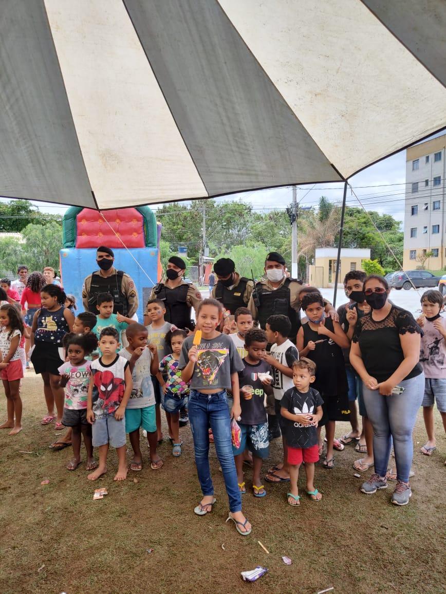 Vereadora Sargento Sabrina promove ação conjunta para o Dia das Crianças no Palmital